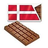 12 kleine Tafeln Schokolade - Fanartikel Süßigkeiten - Große Auswahl Länder, Nationen,...