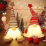 MTaoyac Weihnachten Deko Wichtel 49 cm Hoch, Schwedischen Weihnachtsmann Santa Tomte Gnom,...