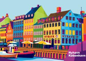 dk-shirts.de Nyhavn pop-art