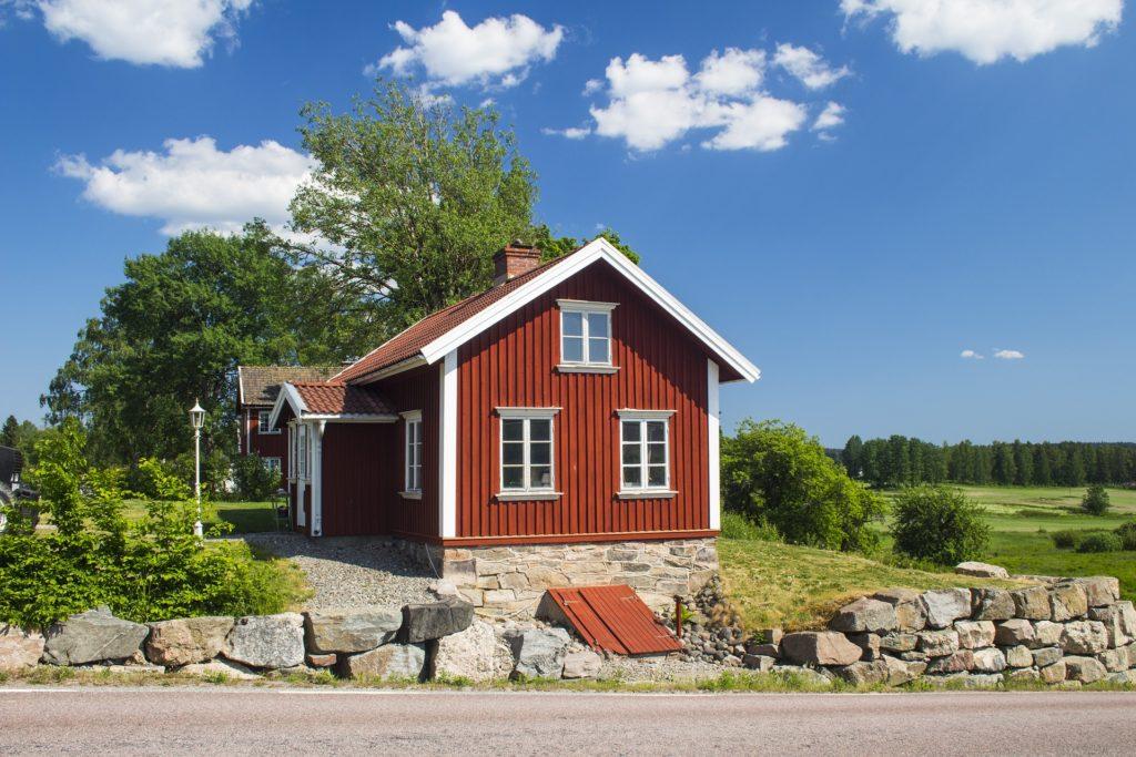 Schwedische Vogelhäuser sind tolle Geschenke für Schwedenfans